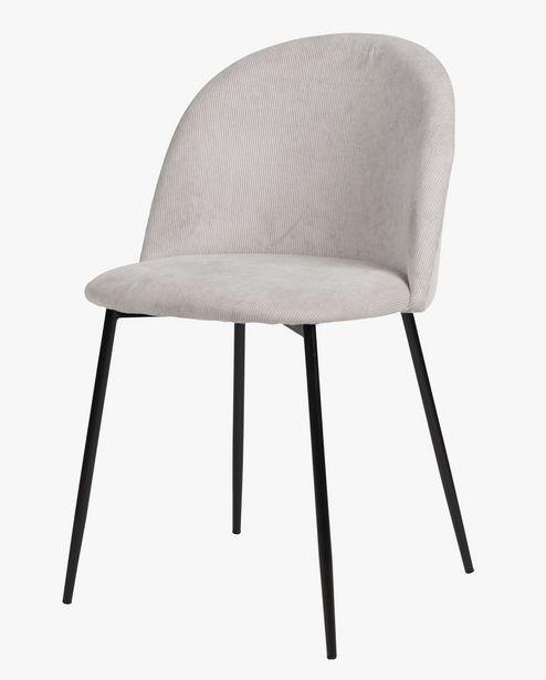 Tilbud: Charlotte stol lys grå 699,93 PK