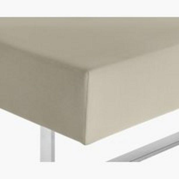 Tilbud: Jerseylaken 180x200x40cm lys grå 449 PK