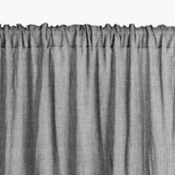 Tilbud: Gardin HIRSHOLM 1x135x300 grå 175 PK
