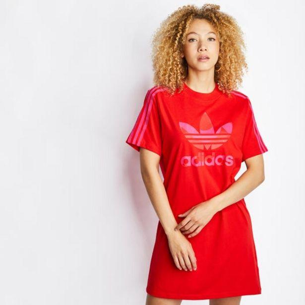 Tilbud: Adidas Marimekko Trefoil Print Infill Tee Dress 499 PK