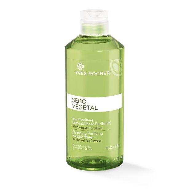 Tilbud: Micellært vann - effektivt mot urenheter og makeuprester, kombinert til fet hud, 390 ml 79 PK