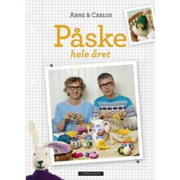 Tilbud: Bok Påske Arne og Carlos NO 50 PK