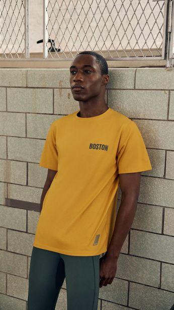 """Tilbud: T-SKJORTE MED MOTIV """"BOSTON"""" 299 PK"""