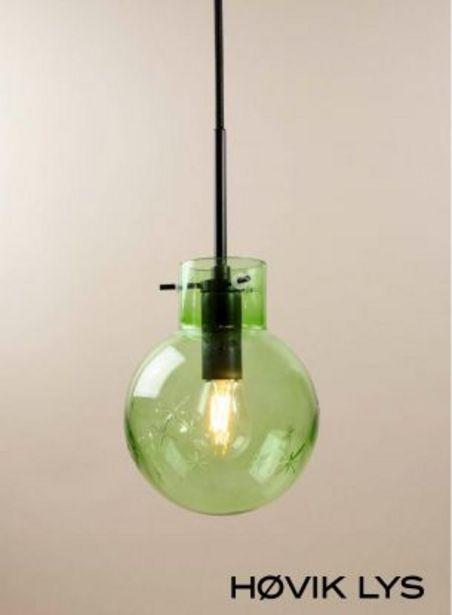 Tilbud: Serena Star glasskule - grønn 499 PK