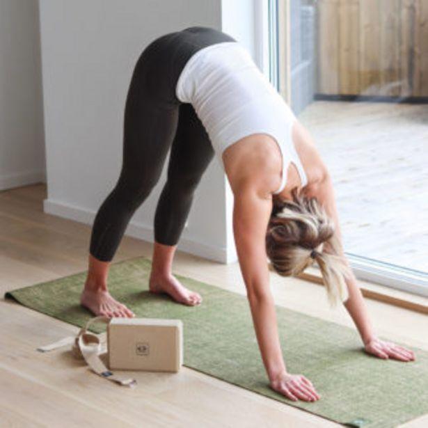 Tilbud: Abilica Yogasett med yogablokk og yogastropp 249 PK